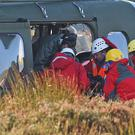 Emergency services are looking for the crashed aircraft (Niall Carson/PA)