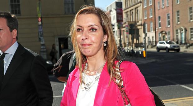 Vicky Phelan, the cancer patient whose case triggered the cervical smear test controversy (Brian Lawless/PA)