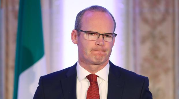 Simon Coveney said Irish women would continue to be subjected to British abortion law unless the referendum was passed (Niall Carson/PA)