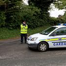 Gardai in Rathmichael, Co Dublin (Eleanor Barlow/PA)