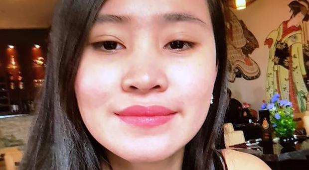 A body believed to be that of Jastine Valdez was discovered in thick undergrowth in the Puck's Castle area of Co Dublin on Monday afternoon (Garda Press Office/PA)