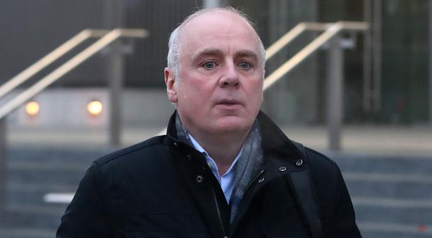Former Anglo Irish Bank chief executive David Drumm denies fraud (Niall Carson/PA)