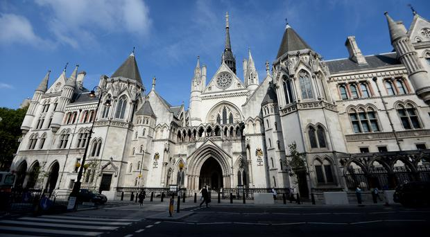The three appeal judges overturned an earlier ruling by a High Court judge (Andrew Matthews/PA)