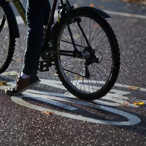 The cyclist is believed to be critically ill in hospital. (Chris Radburn/PA)