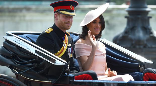 Harry and Meghan are heading to Ireland (Kirsty O'Connor/PA)