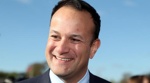 Leo Varadkar also expressed his administration for assassinated San Francisco politician Harvey Milk (Brian Lawless/PA)