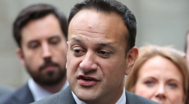 Leo Varadkar said he believes in equality in the workplace, and said that priests should be allowed to marry (Niall Carson/PA)