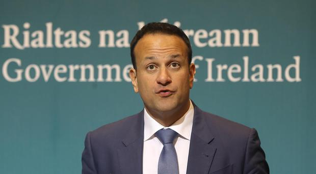 "Taoiseach Leo Varadkar said Ireland had agreed to accept migrants as part of EU ""burden sharing"" measures. Lorraine O'Sullivan/PA wire."
