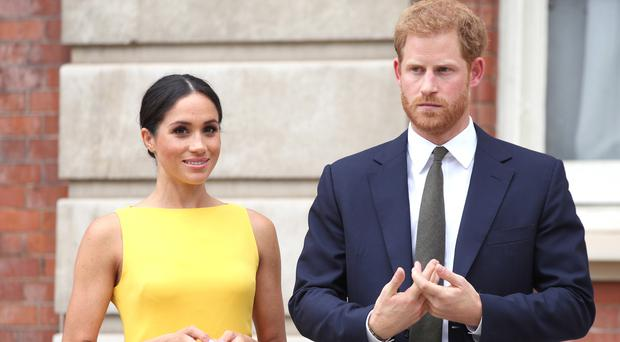Harry and Meghan will visit the Irish capital at the request of the Government (Yui Mok/PA)