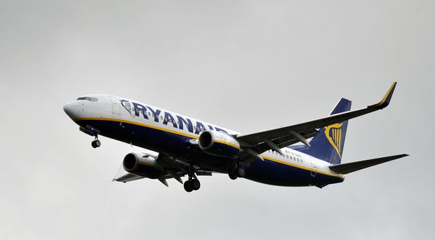 The cancellations affect flights between Ireland and the UK on Friday (Nick Ansell/PA)