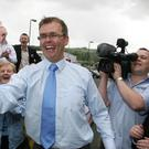 Joe McHugh is the minister for the Irish language (Paul Faith/PA)