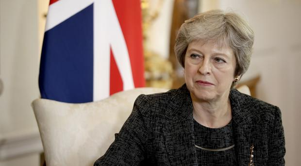 "Theresa May said the public should take take ""reassurance and comfort"" from the fact the Government was preparing for the worst (Matt Dunham/PA)"
