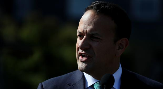 Mr Varadkar acknowledged that poorer people would be affected by the carbon tax plans (Brian Lawless/PA)