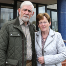 Agony: Deirdre Jacob's parents, Michael and Bernie