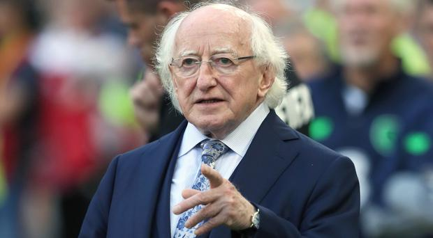 November 11 marks Armistice Day, the day after Michael D Higgins' term in office finishes and the fresh mandate begins (Brian Lawless/PA)