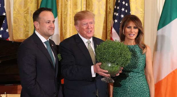 Irish Taoiseach Leo Varadkar said US President Donald Trump will no longer visit Ireland (Niall Carson/PA)