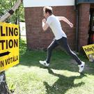 A polling station in Dublin (Niall Carson/PA)