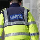 General view of a Garda officer (Julien Behal/PA)
