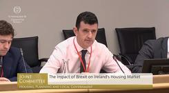 Mr McQuinn pointed to the number of financial workers that could relocate to Dublin if London's banking sector was hit (PA)