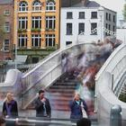 File photo of people on the Ha'penny Bridge in Dublin (Niall Carson/PA)