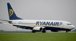 Ryanair is facing enforcement action by the Civil Aviation Authority (PA)