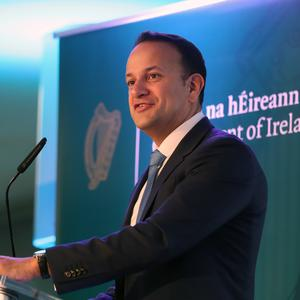 Taoiseach Leo Varadkar has said he is confident terminations will be introduced in January (Niall Carons/PA)