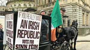 Events took place to commemorate the centenary of the 1918 general election (Michelle Devane/PA)