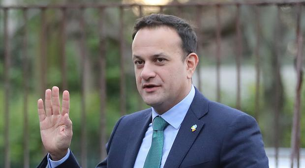 Leo Varadkar said the Government was performing well on other environmental issues (PA)