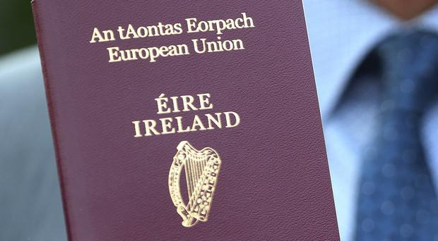 Almost 200,000 Irish passport applications were received from the UK this year (Brian Lawless/PA)