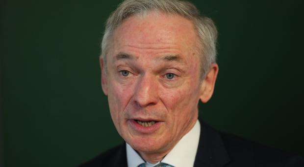 Environment Minister Richard Bruton announced a ban on single-use plastics in government offices (Niall Carson/PA Wire)