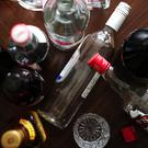 'The largest number of alcohol-related deaths continues to occur in those aged between 45 and 54 years (959), with 817 recorded in the 55-64 age group' (stock photo)