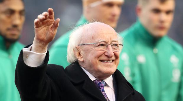 Ireland President Michael D Higgins is on a three-day visit to England (Brian Lawless/PA)