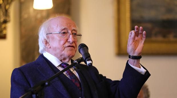 Ireland's President Michael D Higgins said it will be more important than ever to build upon the deep friendship between the UK and Ireland after Brexit (Aaron Chown/PA)