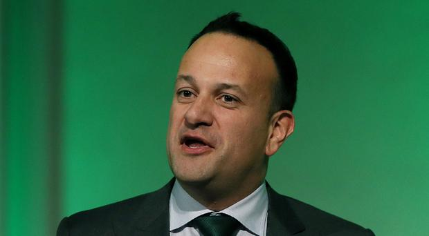 Leo Varadkar was unhappy that questions went answered (Brian Lawless/PA)