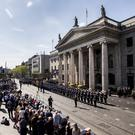 The ceremony will be held outside the GPO on O'Connell Street Dublin (PA)