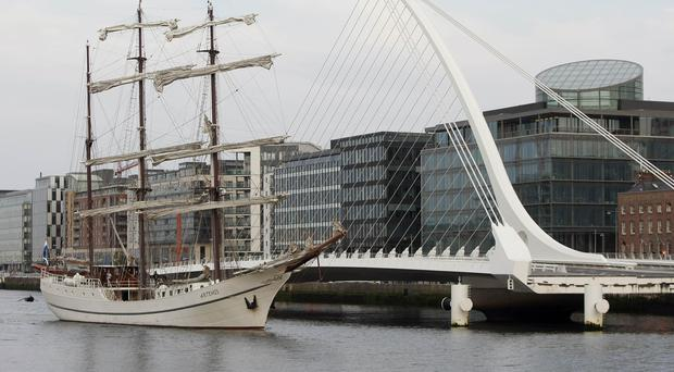 Indeed will create 600 jobs in Dublin's Docklands (Niall Carson/PA)