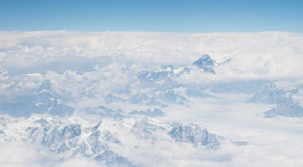 Mount Everest and the Himalayas (Dominic Lipinski/PA)