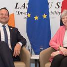 Leo Varadkar described Theresa May as a 'passionate politician' (PA)