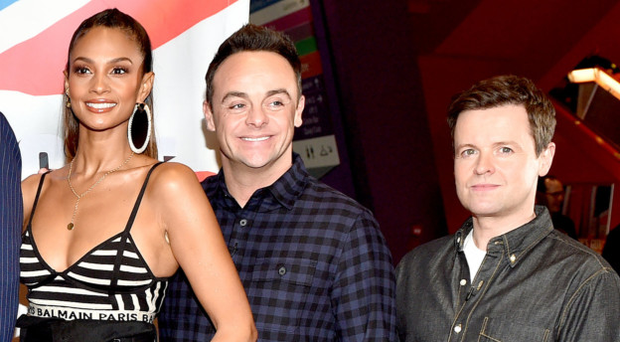 Britain's Got Talent judge Alesha Dixon and the show's presenters, Anthony McPartlin and Declan Donnelly