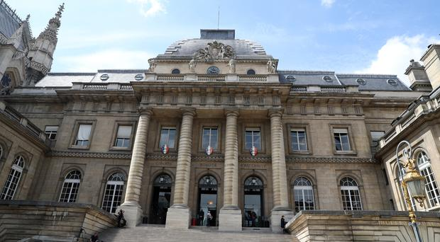 A general view of the Palais de Justice de Paris, where the trial of Ian Bailey is taking place (Steve Parsons/PA)