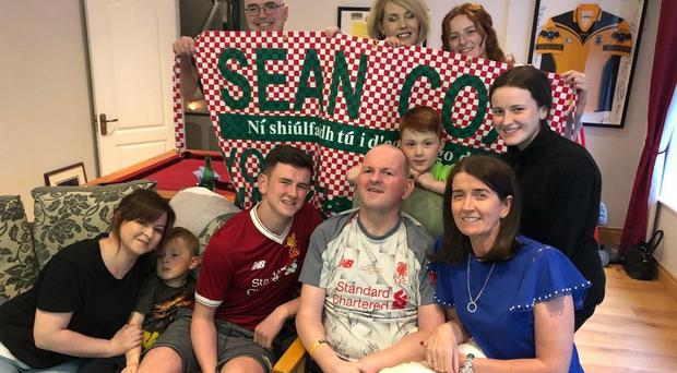 Injured Liverpool FC fan Sean Cox was 'overjoyed' after his beloved Reds were crowned champions of Europe in Madrid (Family handout/PA)