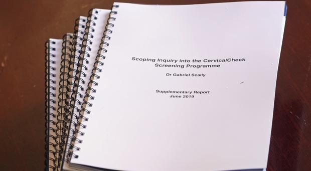 The report by Dr Gabriel Scally (Niall Carson/PA)