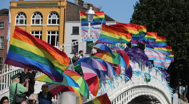 The Department of Justice has been criticised over treatment of LGBT asylum seekers (Niall Carson/PA)