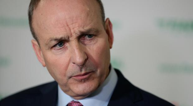 Fianna Fail leader Micheal Martin has said the housing crisis is deepening and home ownership is now at its lowest level since 1971 (Brian Lawless/PA)