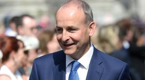 Fianna Fail leader Michael Martin (Justin Farrelly/PA)