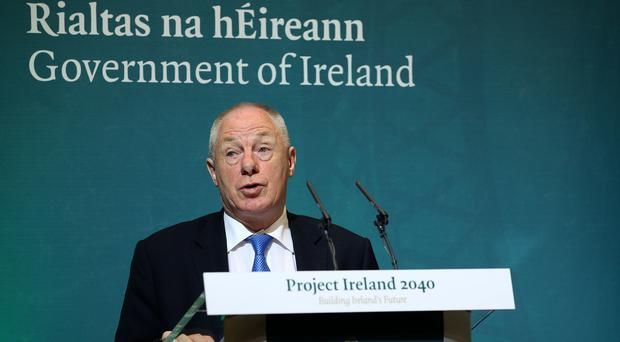 Michael Ring hailed the new social enterprise policy (Brian Lawless/PA)