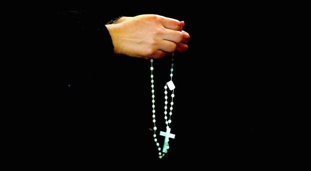 'Having been a net exporter of priests for many years, the Catholic Church has found itself in the invidious position of having to be a net importer' (stock picture)