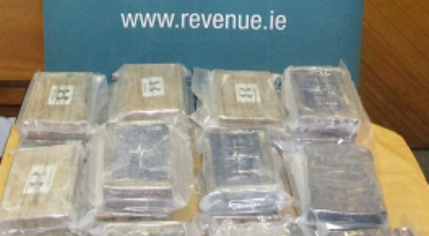 Cocaine worth more than 2.5 million euro has been seized by customs officers at Rosslare port (Revenue Commissioners/PA)
