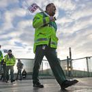 Hundreds of ambulance staff from the PNA trade union are set to strike for 24-hours from 2pm on Friday in a dispute over union recognition (Niall Carson/PA Wire)