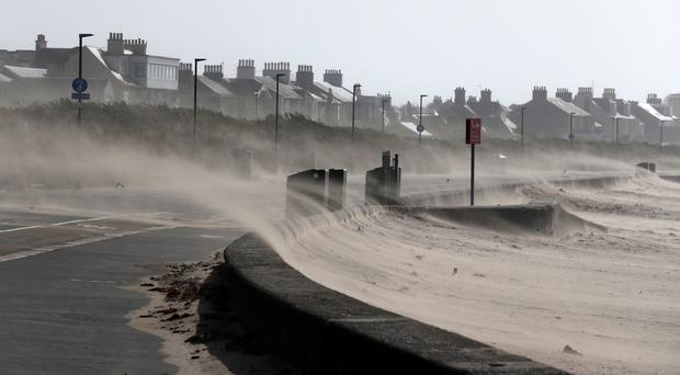 Storm Ali was the first to hit last season (Andrew Milligan/PA)